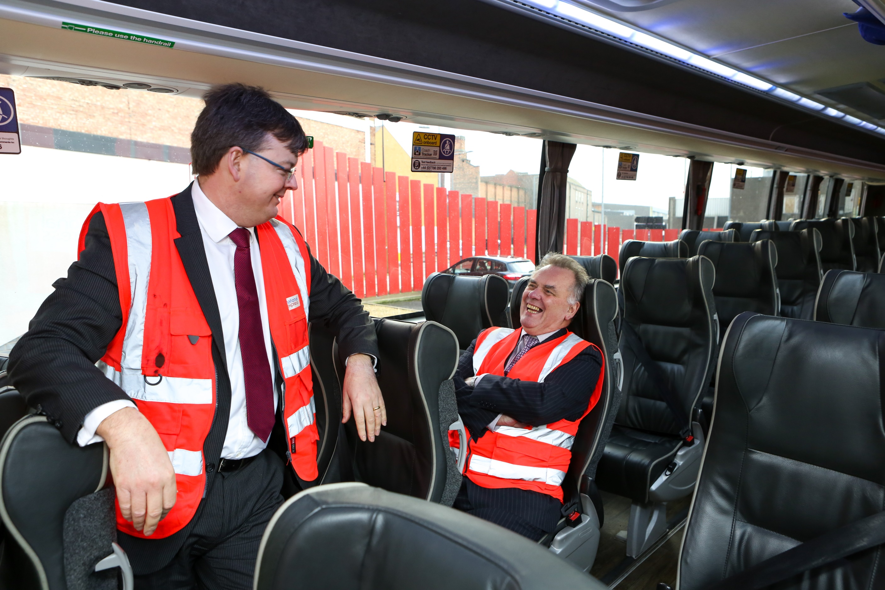 Council leader visits birmingham coach station to mark anniversary national express group plc - National express head office number ...