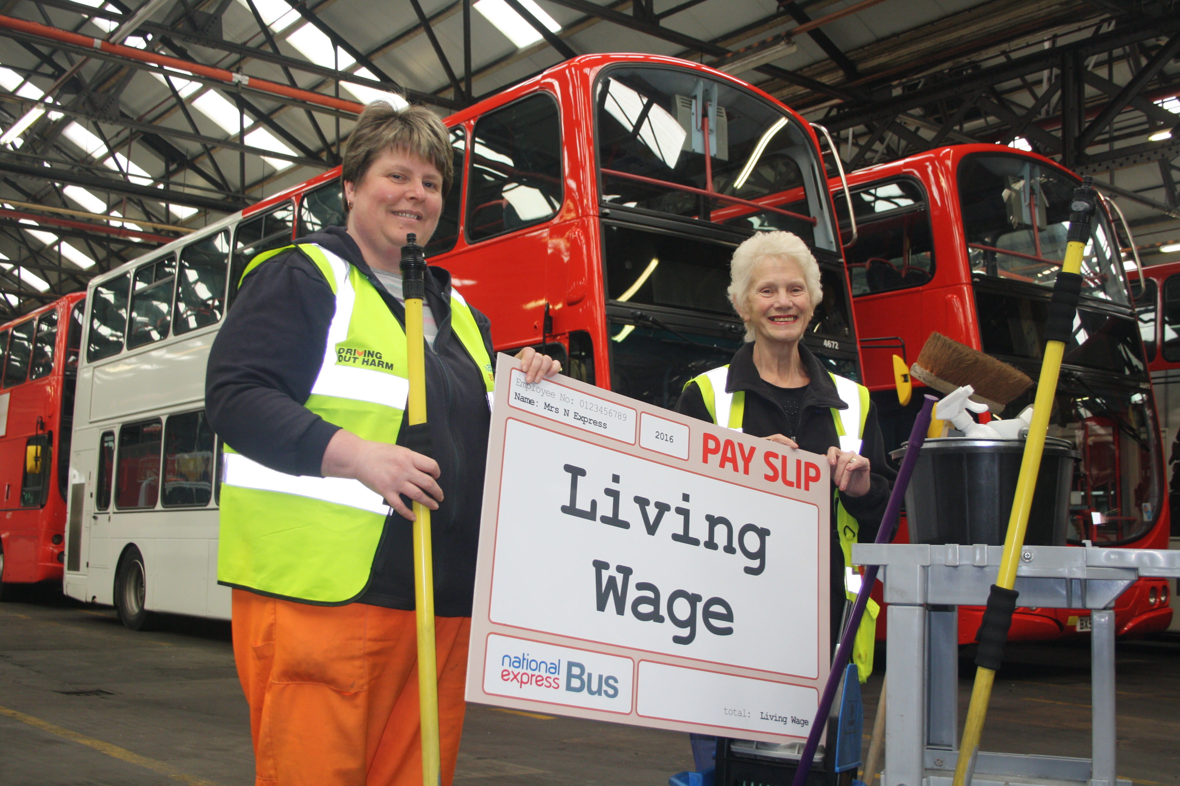 Living Wage cleaners and payslip.JPG
